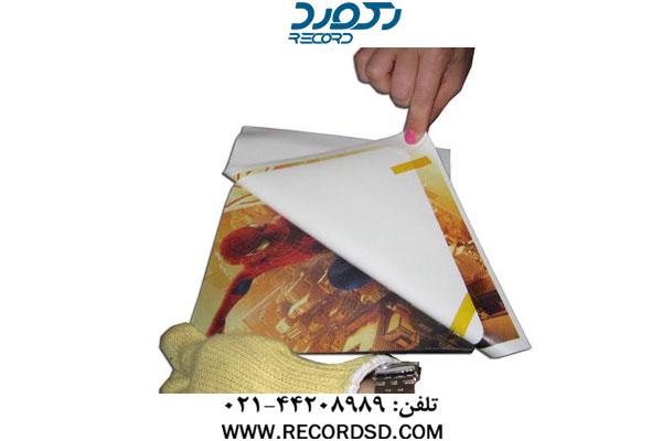 چاپ طرح روی موس پد با دستگاه پرس حرارتی