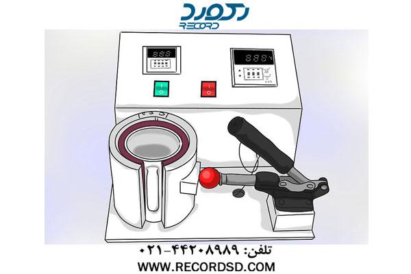 تنظیمات دستگاه پرس حرارتی برای چاپ روی لیوان