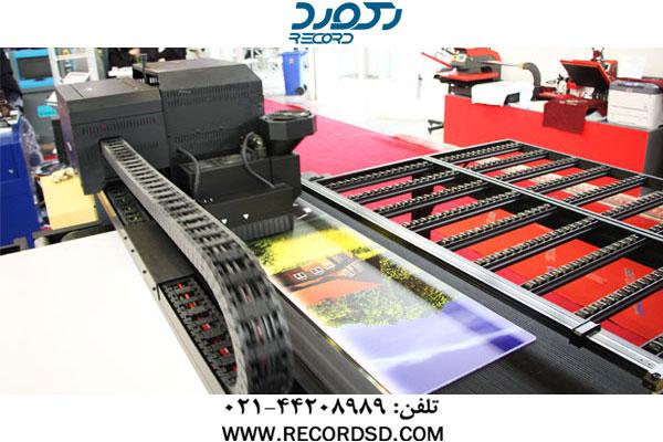 چاپ با کیفیت بالا در دستگاه چاپ فلت بد